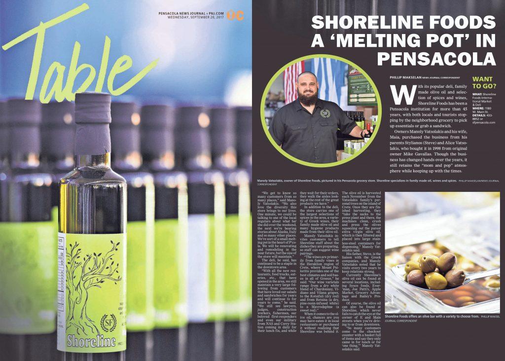 Shoreline Pensacola News Journal